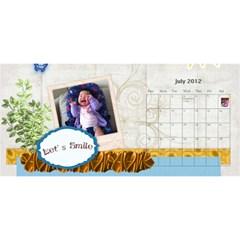 Metok Calendar By Lorraine Chiu   Desktop Calendar 11  X 5    Iz1sdxttqq1c   Www Artscow Com Jul 2012