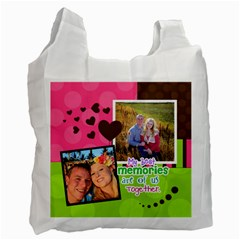 My Best Memories  Recycle Bag 2 Sides By Digitalkeepsakes   Recycle Bag (two Side)   03udrepb9j5h   Www Artscow Com Front