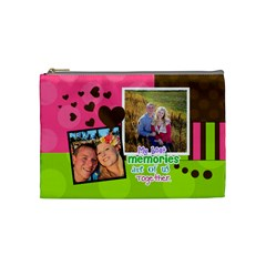 My Best Memories   Medium Cosmetic Bag By Digitalkeepsakes   Cosmetic Bag (medium)   0r43f75winz2   Www Artscow Com Front