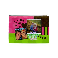 My Best Memories   Medium Cosmetic Bag By Digitalkeepsakes   Cosmetic Bag (medium)   0r43f75winz2   Www Artscow Com Back