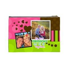 My Best Memories   Medium Cosmetic Bag By Digitalkeepsakes   Cosmetic Bag (large)   Bh35dn1wurfl   Www Artscow Com Back