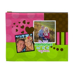 My Best Memories   Xl Cosmetic Bag By Digitalkeepsakes   Cosmetic Bag (xl)   0u38duazrruf   Www Artscow Com Front