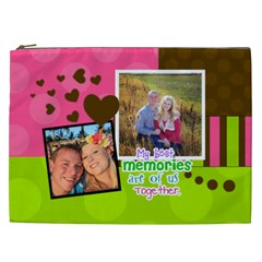 My Best Memories   Xxl Cosmetic Bag By Digitalkeepsakes   Cosmetic Bag (xxl)   Od3sdh7mgvx4   Www Artscow Com Front