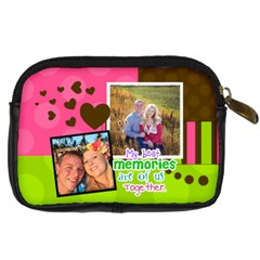 My Best Memories   Camera Case By Digitalkeepsakes   Digital Camera Leather Case   O4ekoxvper1x   Www Artscow Com Back