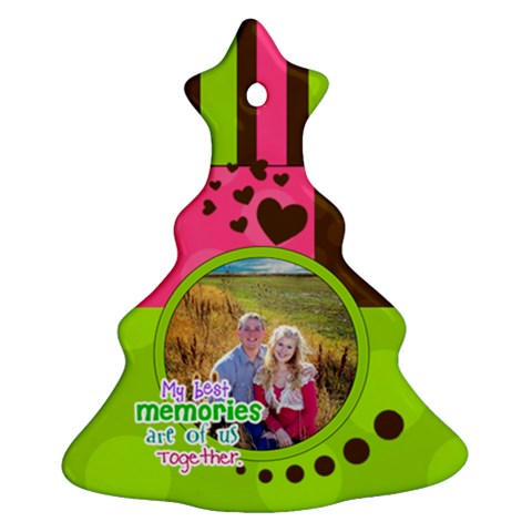 My Best Memories   Ornament By Digitalkeepsakes   Ornament (christmas Tree)    Aycxfoo4b2im   Www Artscow Com Front