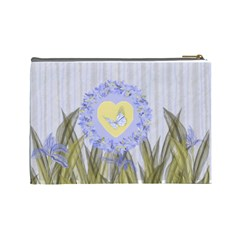 Iris Aquarel Make Up By Cari    Cosmetic Bag (large)   8gc3clby0jfn   Www Artscow Com Back
