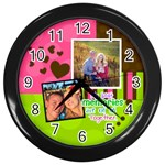 My Best Memories - Wall Clock - Wall Clock (Black)