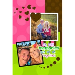 My Best Memories   Notebook By Digitalkeepsakes   5 5  X 8 5  Notebook   Zwrjz9pblo8p   Www Artscow Com Back Cover