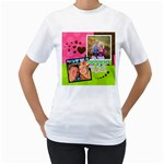 My Best Memories - Women - Women s T-Shirt (White) (Two Sided)