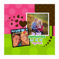 My Best Memories By Digitalkeepsakes   Medium Glasses Cloth (2 Sides)   2ky5o581kgwn   Www Artscow Com Front