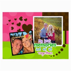 My Best Memories By Digitalkeepsakes   Large Glasses Cloth (2 Sides)   Ny9u3a4nd073   Www Artscow Com Front