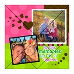 My Best Memories are of us together - Acrylic Tangram Jigsaw Puzzle (8  x 8 )