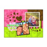 My Best Memories are of us together - Acrylic Jigsaw Puzzle (7  x 5 )