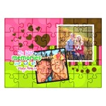 My Best Memories are of us together - Acrylic Jigsaw Puzzle (11.2  x 8 )