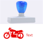 transport - Rubber Address Stamp (XL)