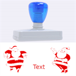 Merry Christmas - Rubber Address Stamp (XL)