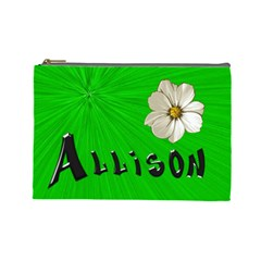 Allison By Mindy Simpson   Cosmetic Bag (large)   Sr6jxjt9qyzq   Www Artscow Com Front
