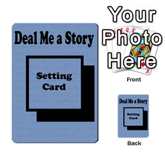 Deal Me A Story Cards By Vickie Boutwell   Multi Purpose Cards (rectangle)   00j15fphwnsv   Www Artscow Com Back 18