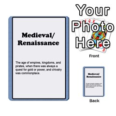 Deal Me A Story Cards By Vickie Boutwell   Multi Purpose Cards (rectangle)   00j15fphwnsv   Www Artscow Com Front 21
