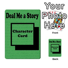 Deal Me A Story Cards By Vickie Boutwell   Multi Purpose Cards (rectangle)   00j15fphwnsv   Www Artscow Com Back 26