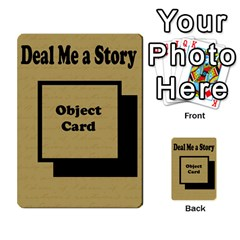 Deal Me A Story Cards By Vickie Boutwell   Multi Purpose Cards (rectangle)   00j15fphwnsv   Www Artscow Com Back 43