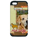 pet, dog - Apple iPhone 5 Hardshell Case (PC+Silicone)