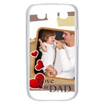 love dad - Samsung Galaxy S III Case (White)