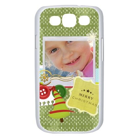 Xmas By Jo Jo   Samsung Galaxy S Iii Case (white)   3v1vbbqwtw2g   Www Artscow Com Front