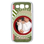 merry christmas - Samsung Galaxy S III Case (White)