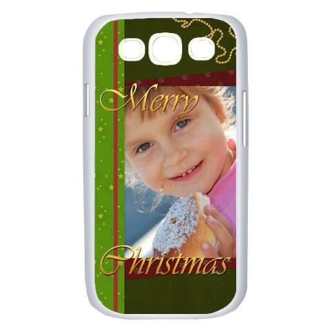 Merry Christmas By Jo Jo   Samsung Galaxy S Iii Case (white)   Hzs7zbsswrsm   Www Artscow Com Front