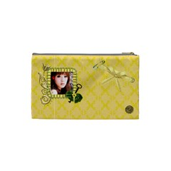 Cosmetic Bag (small)  Yellow By Joanne5   Cosmetic Bag (small)   Ad2c0zrj0t52   Www Artscow Com Back