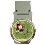 Money Clip Watch-Green