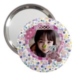 Pink Bear- Girl  3  Handbag Mirror