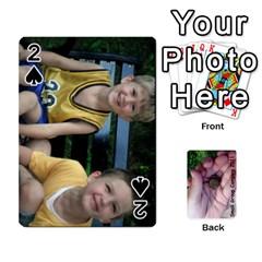 2011 Camping Deck Public By Elizabeth Brechtel   Playing Cards 54 Designs   Hoa8g9gju6kz   Www Artscow Com Front - Spade2