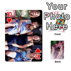 2011 Camping Deck Public By Elizabeth Brechtel   Playing Cards 54 Designs   Hoa8g9gju6kz   Www Artscow Com Front - Heart10