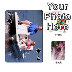 2011 Camping Deck Public By Elizabeth Brechtel   Playing Cards 54 Designs   Hoa8g9gju6kz   Www Artscow Com Front - Spade7