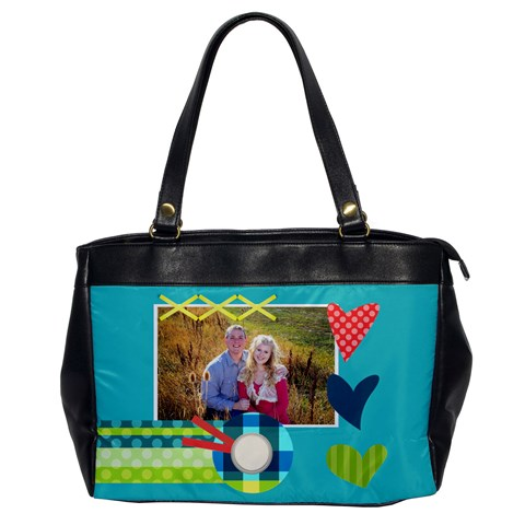 Heart   Oversize Office Bag By Digitalkeepsakes   Oversize Office Handbag   2exiwxpwead0   Www Artscow Com Front