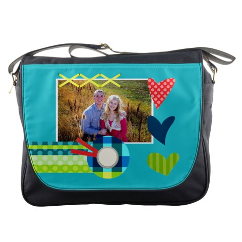 Heart   Messenger Bag By Digitalkeepsakes   Messenger Bag   Eo0tcordyho4   Www Artscow Com Front