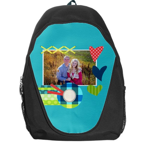 Playful Hearts By Digitalkeepsakes   Backpack Bag   Mmsadeten6il   Www Artscow Com Front