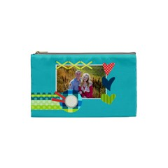 Playful Hearts By Digitalkeepsakes   Cosmetic Bag (small)   Zc8m95yqn2ao   Www Artscow Com Front
