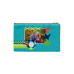 Playful Hearts By Digitalkeepsakes   Cosmetic Bag (small)   Zc8m95yqn2ao   Www Artscow Com Back