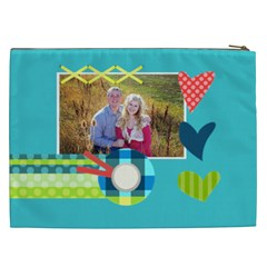 Playful Hearts By Digitalkeepsakes   Cosmetic Bag (xxl)   Zd38soun9t8k   Www Artscow Com Back