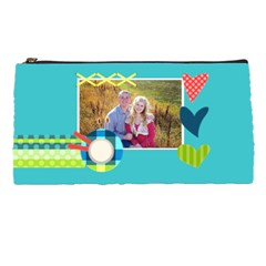 Playful Hearts By Digitalkeepsakes   Pencil Case   3d2nsjc5kmfv   Www Artscow Com Front