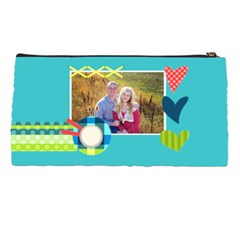 Playful Hearts By Digitalkeepsakes   Pencil Case   3d2nsjc5kmfv   Www Artscow Com Back