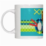 Playful Hearts - White Mug
