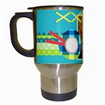 Playful Hearts - Travel Mug (White)