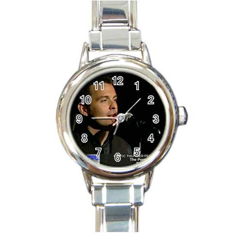 Ryan Watch 1 By Karen   Round Italian Charm Watch   Mwfnb6ihgqdl   Www Artscow Com Front