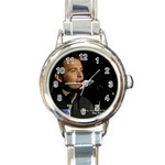 ryan watch 1 - Round Italian Charm Watch