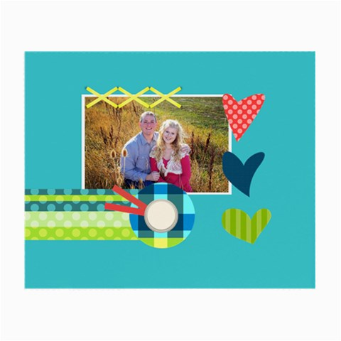 Playful Hearts By Digitalkeepsakes   Small Glasses Cloth   Alfskehyn509   Www Artscow Com Front