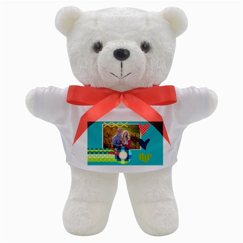 Playful Hearts By Digitalkeepsakes   Teddy Bear   Aebgjvg8d0cl   Www Artscow Com Front